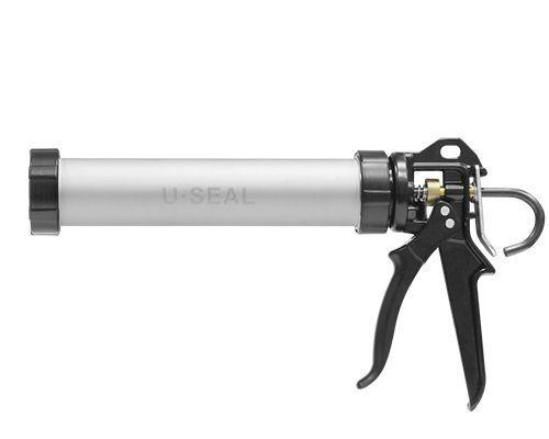 U-seal Профессиональный ручной пистолет с цилиндрическим алюминиевым корпусом закрытого типа, 400 мл