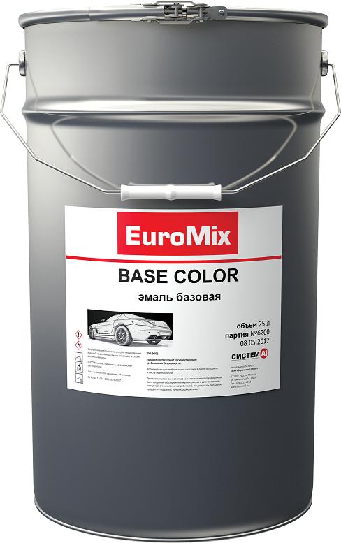 EuroMix Эмаль EUROMIX базовая белый (компонент) (1 л)
