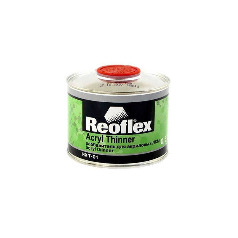 Reoflex Разбавитель стандартный для акриловых ЛКМ REOFLEX, уп. 0,5л