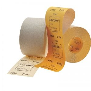 Smirdex P500 Абразивная бумага в рулонах SMIRDEX 510 White, 116 мм x 50 м, (упаковка 1 шт.)