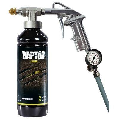 U-Pol Профессиональный пистолет для нанесения RAPTOR с регулируемой дюзой