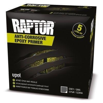 U-Pol Эпоксидный антикоррозийный грунт RAPTOR, комплект 1л (0,8л грунт + 0,2л отвердитель)