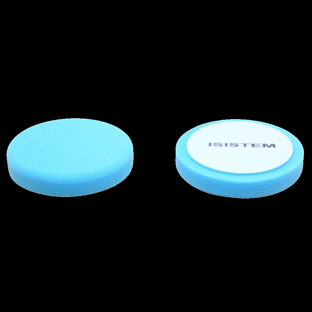 Isistem Полировальный круг из поролонa D80 mm T30 mm среднежесткий синий - ISISTEM Norma Blue,  (упаковка 750 шт.)