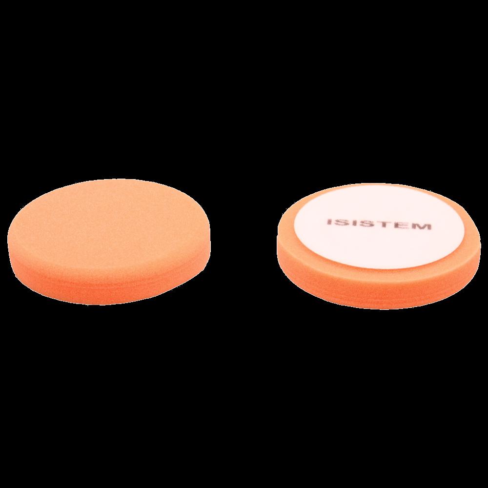 Isistem Полировальный круг из поролонa D80 mm T30 mm жесткий оранжевый - ISISTEM Norma Orange, (упаковка 750 шт.)