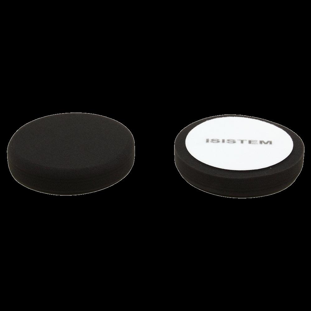 Isistem Полировальный круг из поролонa D80 mm T30 mm мягкий черный - ISISTEM Norma Black, (упаковка 750 шт.)