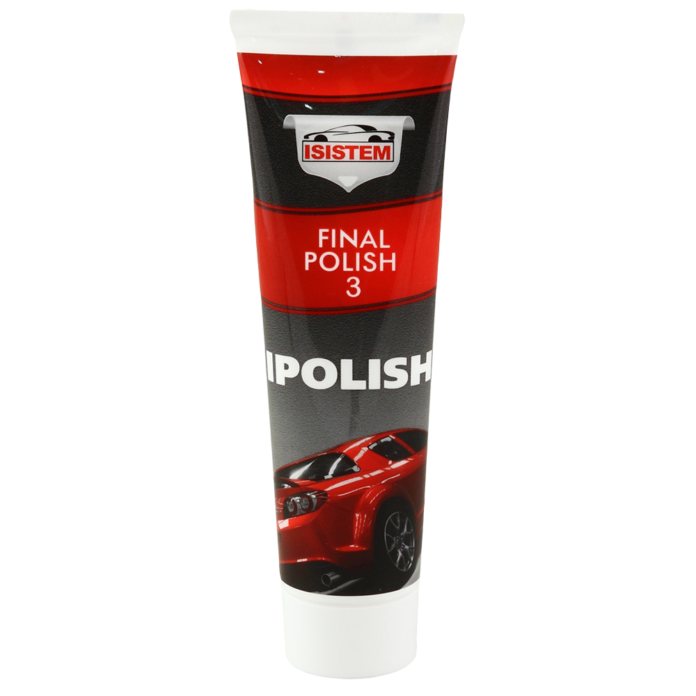 Isistem Неабразивная паста Ipolish FinalPolish №3 (упаковка 24 шт.), 100мл.