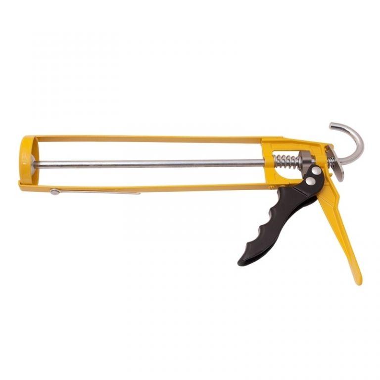Isistem Механический пистолет для герметиков IGUN скелетообразный (картридж 310мл, сила 1500Н, 7 : 1), (упаковка 1 шт.)