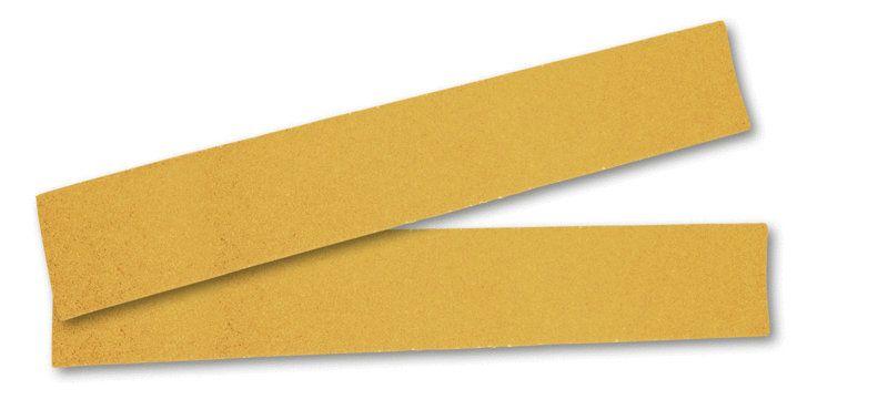 """Mirka GOLD. Абразивная полоска на бумажной основе """"липучка""""  70x420мм без отверстий P80, (упаковка 50 шт.)"""
