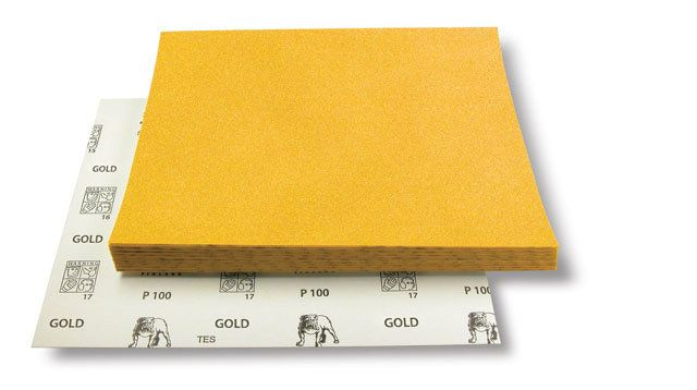 Mirka Шлифовальный материал на бумажной основе GOLD 230x280мм Р120, (упаковка 50 шт.)