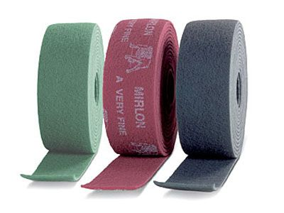Mirka NON WOVEN. Абразивный войлок синтетический 115x10м общ назнач 320 (зеленый), (упаковка 1 шт.)