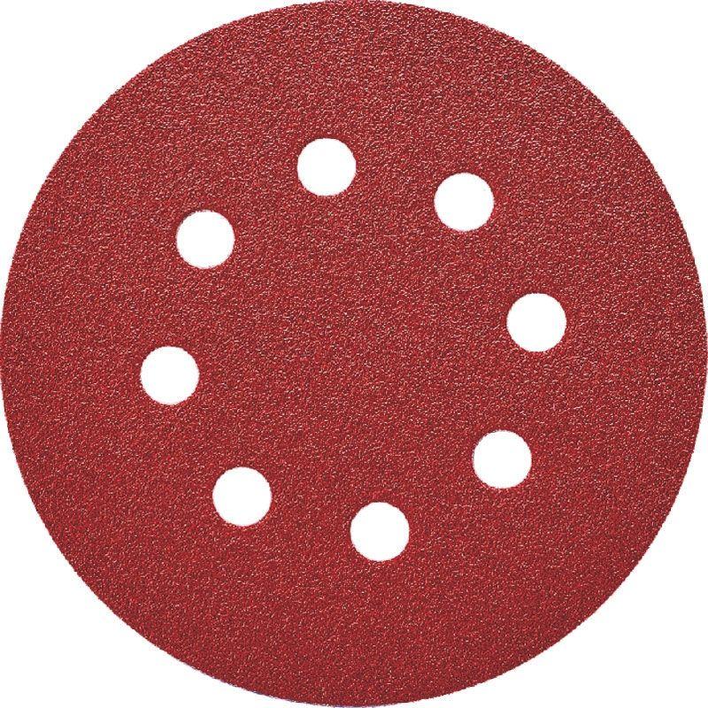 Smirdex P150 Абразивный круг 330 Duroflex, D 125мм, 8 отверстий, (упаковка 100 шт.)