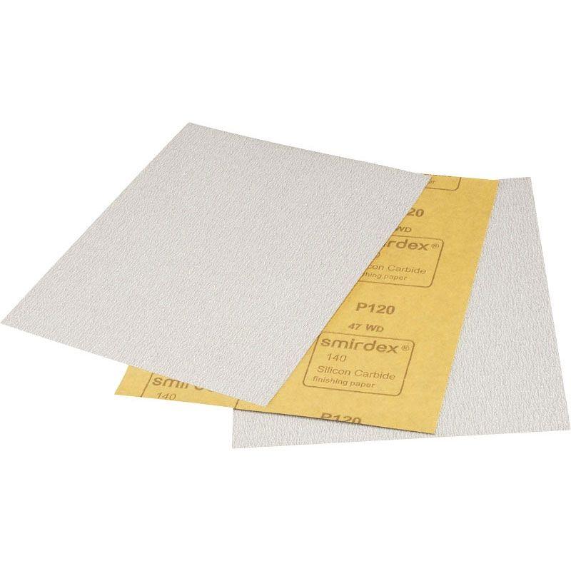 Smirdex P180 Абразивная бумага SMIRDEX 140 Silicon Carbide, 230мм x 280мм, (упаковка 100 шт.)