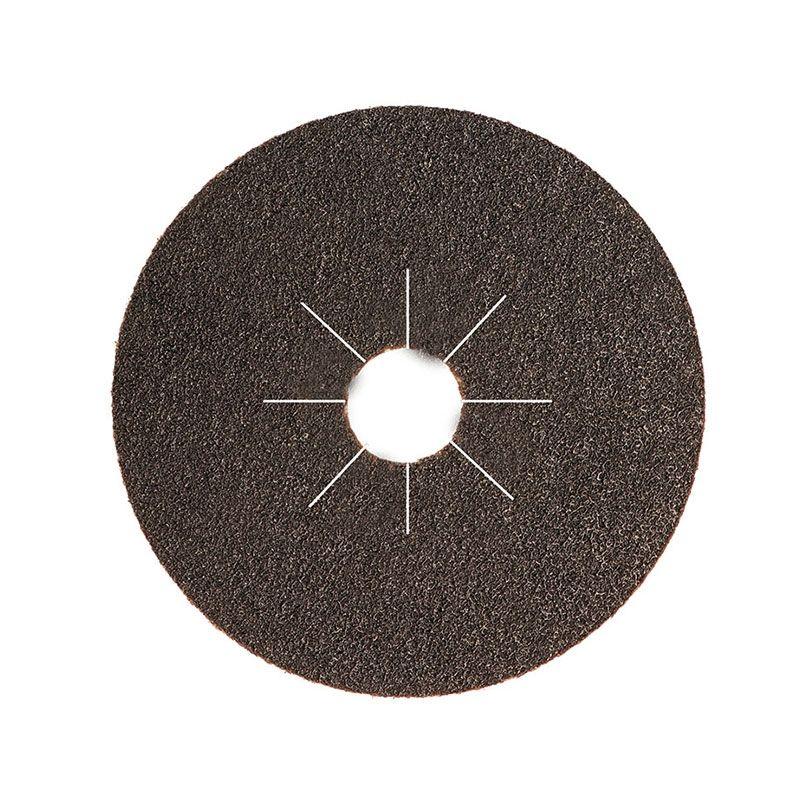Smirdex Диск фибровый шлифовальный Fiber Discs Sic D 125мм Р80, (упаковка 25 шт.)
