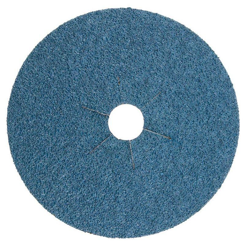 Smirdex Диск фибровый шлифовальный Fiber Discs Zirconia D 125мм, Р60, (упаковка 25 шт.)