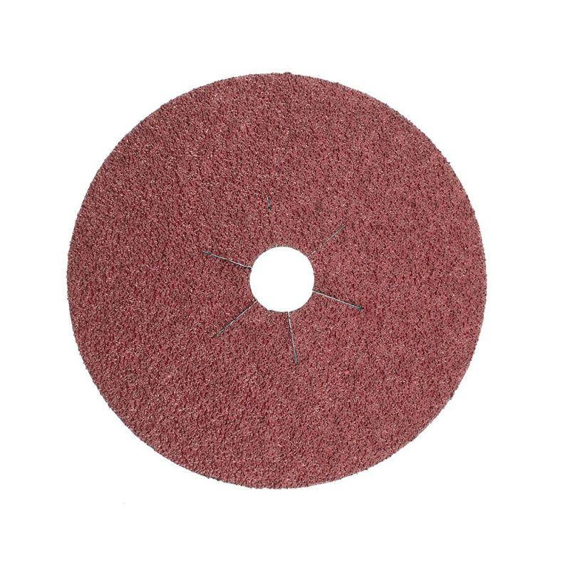 Smirdex Диск фибровый шлифовальный Fiber Discs Ceramic D 125мм, Р100, (упаковка 25 шт.)