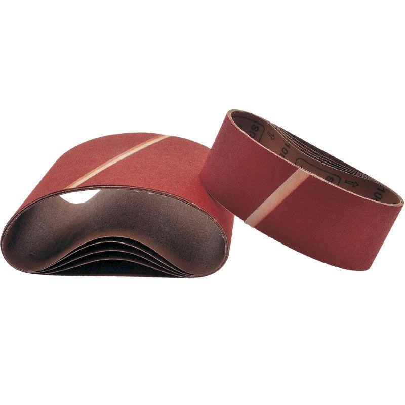 Smirdex Р100 Лента шлифовальная бесконечная SMIRDEX Cloth 630, 75мм x 535мм, (упаковка 5 шт.)