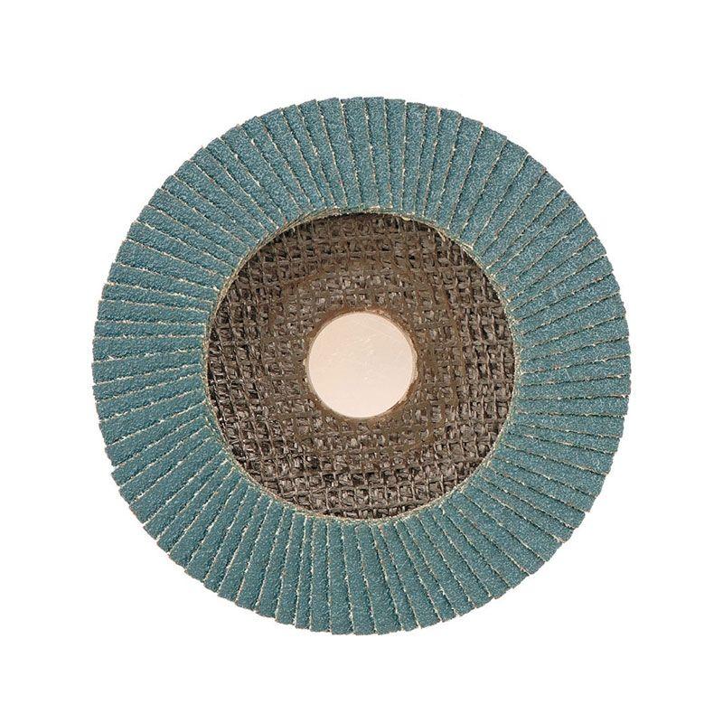 Smirdex Круг лепестковый КЛТ Zr D 125мм Р36, (упаковка 5 шт.)