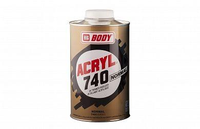 HB Body Acryl Normal 740 растворитель, 500мл.